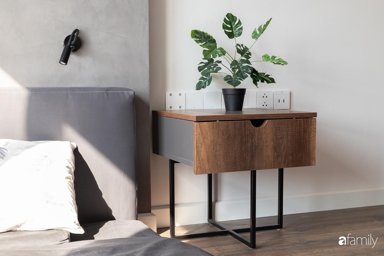 Căn hộ với chi phí phần nội thất gỗ có giá 200 triệu đồng đẹp cuốn hút theo phong cách tối giản ở Hà Nội - Ảnh 22.