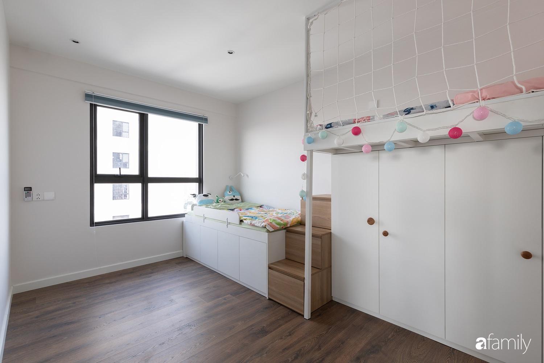 Căn hộ với chi phí phần nội thất gỗ có giá 200 triệu đồng đẹp cuốn hút theo phong cách tối giản ở Hà Nội - Ảnh 28.