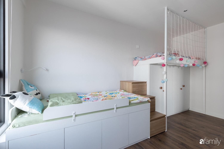 Căn hộ với chi phí phần nội thất gỗ có giá 200 triệu đồng đẹp cuốn hút theo phong cách tối giản ở Hà Nội - Ảnh 27.