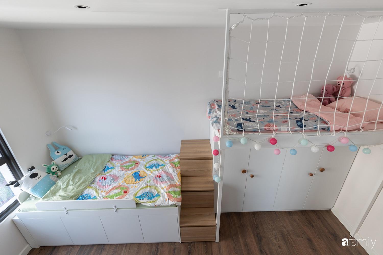 Căn hộ với chi phí phần nội thất gỗ có giá 200 triệu đồng đẹp cuốn hút theo phong cách tối giản ở Hà Nội - Ảnh 25.