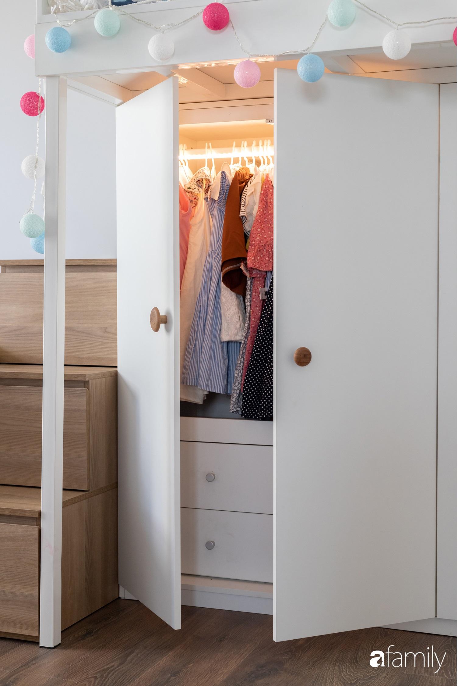 Căn hộ với chi phí phần nội thất gỗ có giá 200 triệu đồng đẹp cuốn hút theo phong cách tối giản ở Hà Nội - Ảnh 29.