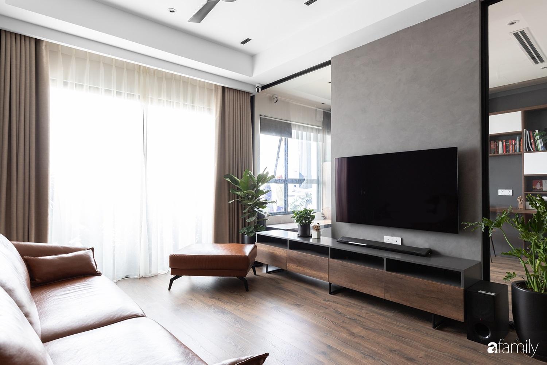 Căn hộ với chi phí phần nội thất gỗ có giá 200 triệu đồng đẹp cuốn hút theo phong cách tối giản ở Hà Nội - Ảnh 1.
