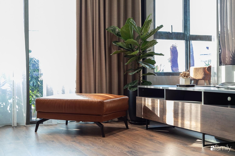 Căn hộ với chi phí phần nội thất gỗ có giá 200 triệu đồng đẹp cuốn hút theo phong cách tối giản ở Hà Nội - Ảnh 2.