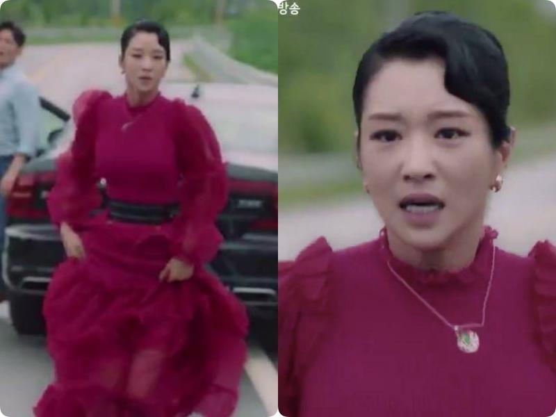 Cả phim đẹp mê hồn, gần cuối phim Seo Ye Ji lại để kiểu tóc xoăn mái nhìn già câng - Ảnh 6.