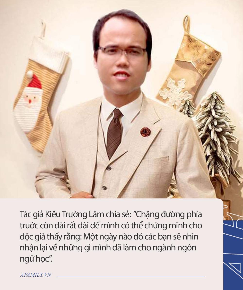 Tác giả Kiều Trường Lâm tiết lộ: Đã có người đề nghị mua chữ với giá 400 triệu nhưng không bán vì muốn thể hiện lòng yêu nước - Ảnh 2.