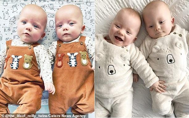 Bà mẹ sinh đôi hai con trai cách nhau 2 ngày vì đang chuyển dạ thì hết đau - Ảnh 6.