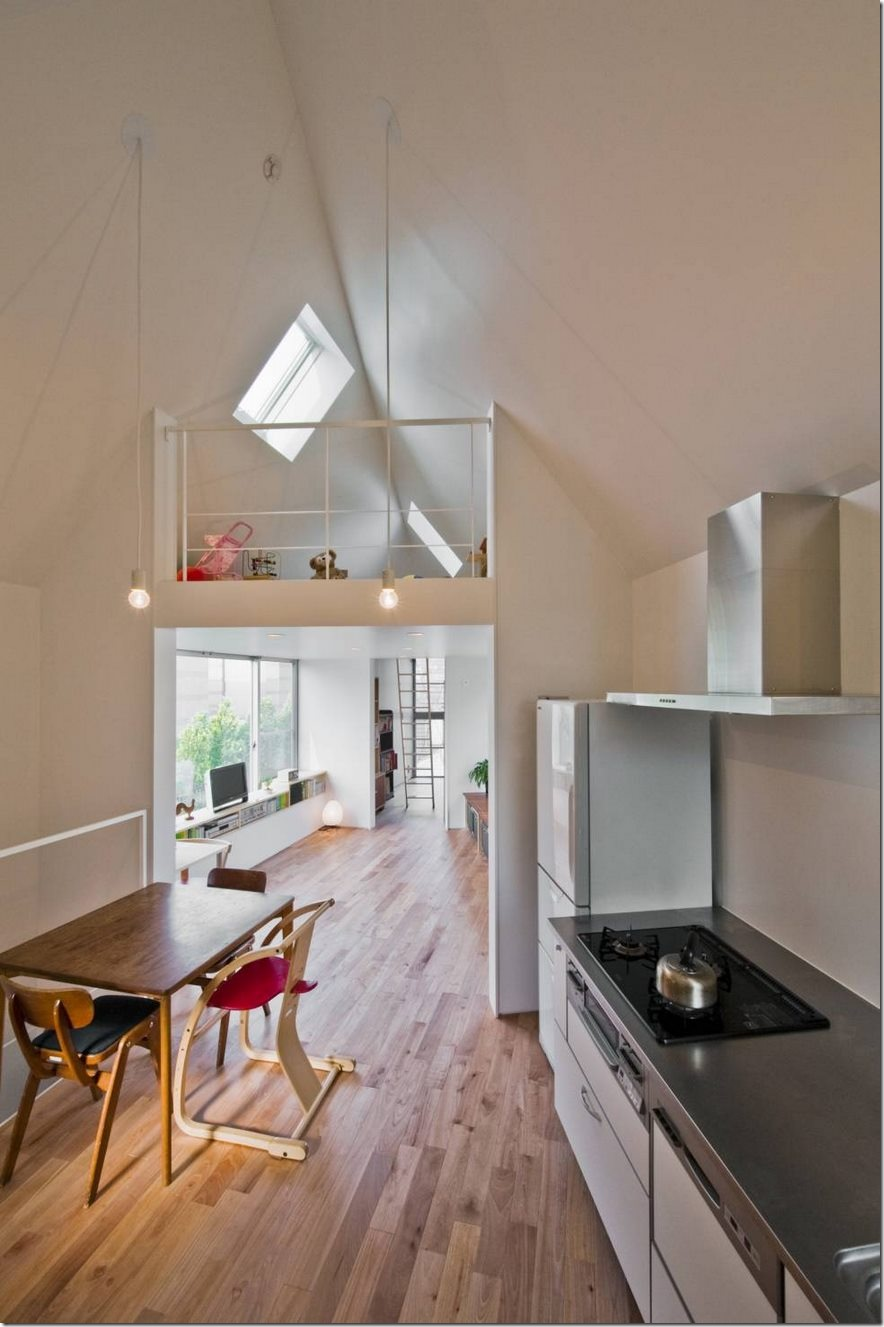 Căn nhà 2 tầng hình tam giác rộng 29m² tiện nghi, thoáng sáng bất ngờ - Ảnh 5.