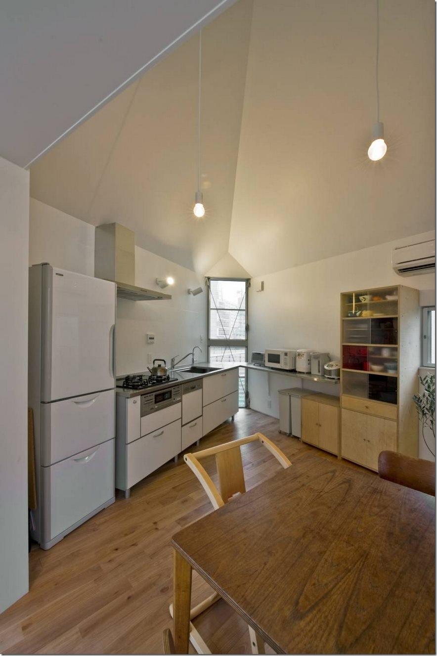 Căn nhà 2 tầng hình tam giác rộng 29m² tiện nghi, thoáng sáng bất ngờ - Ảnh 6.