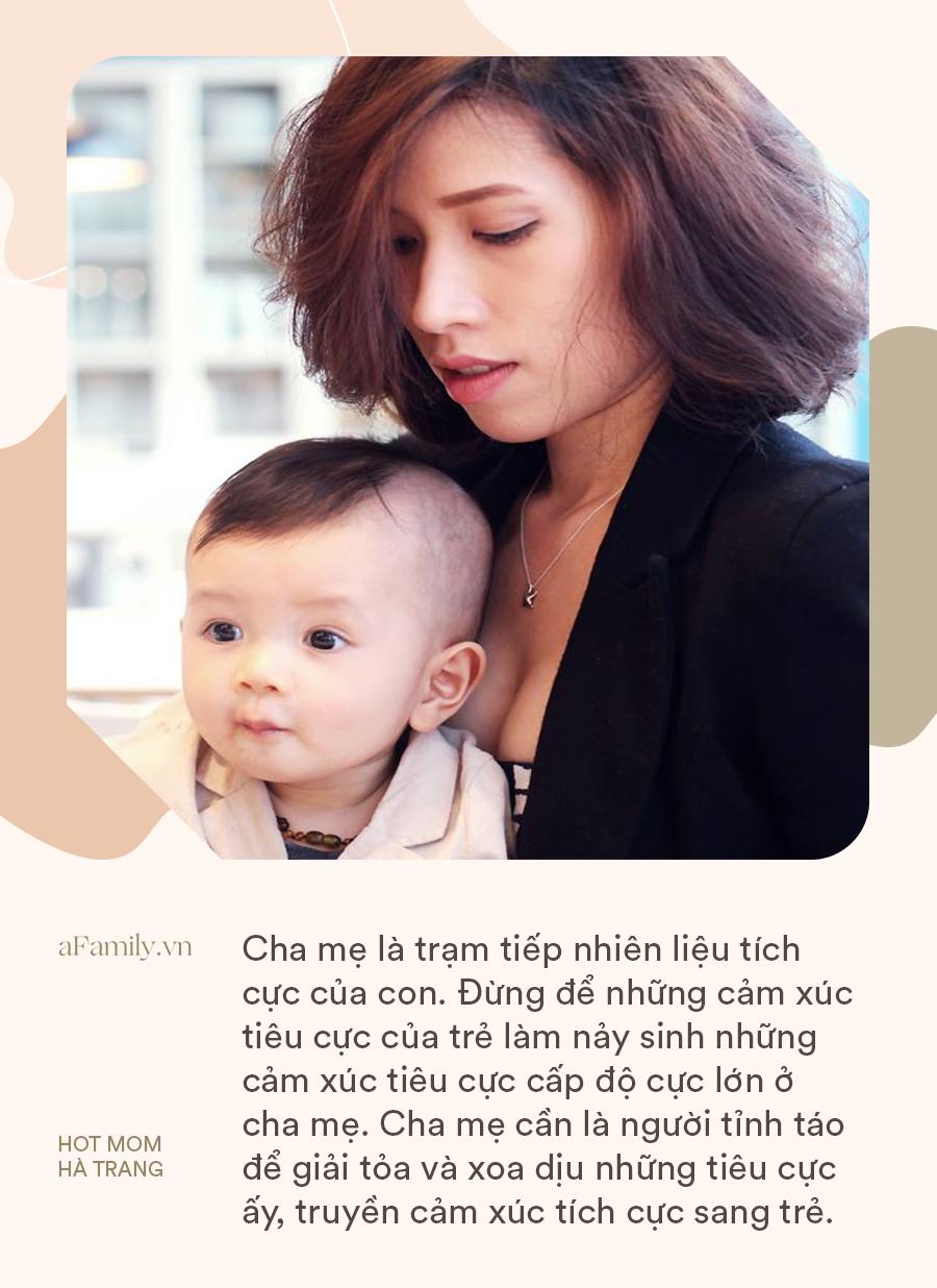 Hot mom Hà Trang chỉ ra những câu nói