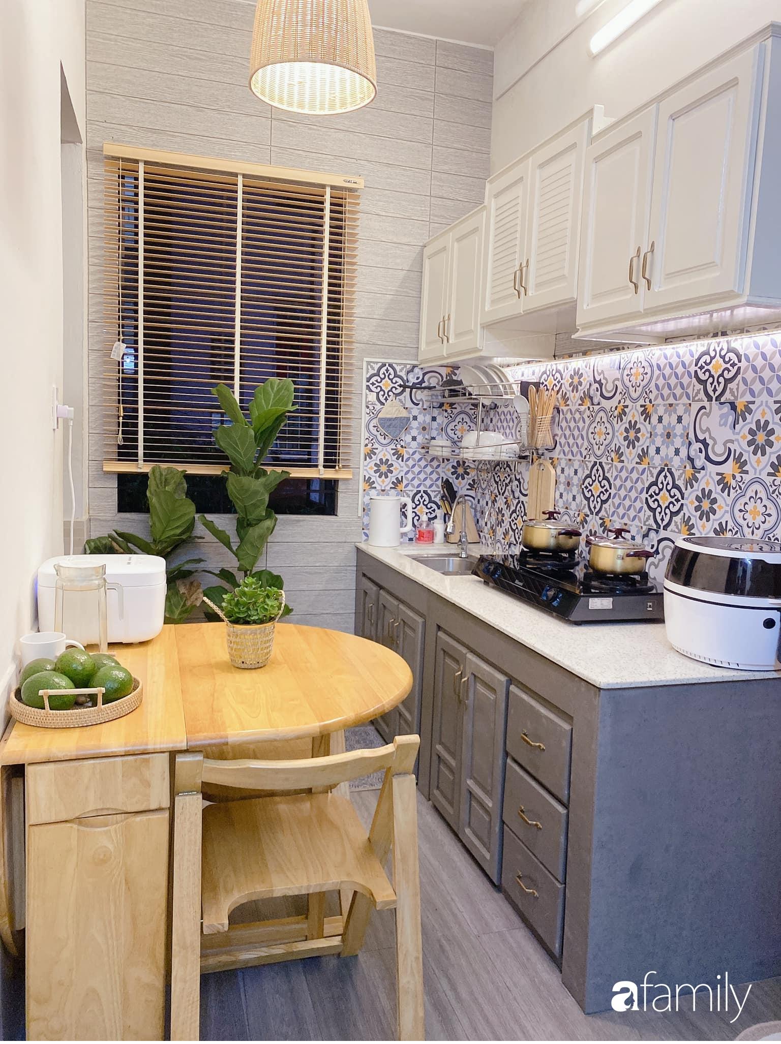 """Anh chồng chiều vợ """"thay áo mới"""" cho căn bếp cũ 6m² trở thành không gian đẹp miễn chê với chi phí chưa đến 3 triệu đồng ở Đà Nẵng - Ảnh 14."""