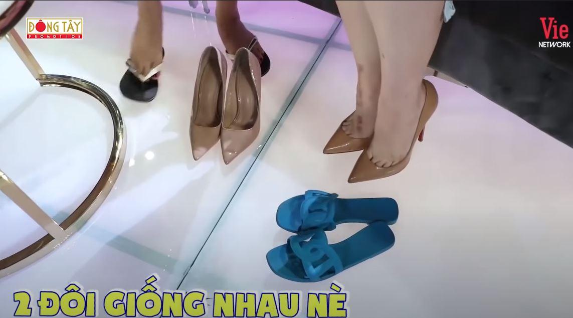 Đi đôi giày 120k mà lại nhầm sang giàu hiệu 20 triệu của Hari Won, Thúy Ngân cuống cuồng thanh minh mà không kịp - Ảnh 6.