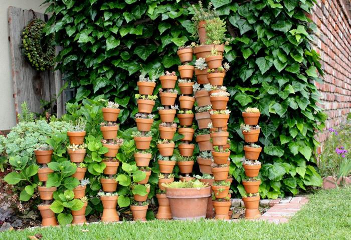 """""""Phù phép"""" chậu đất thành đồ trang trí siêu đáng yêu cho vườn nhà, cách làm vừa rẻ vừa đơn giản - Ảnh 2."""