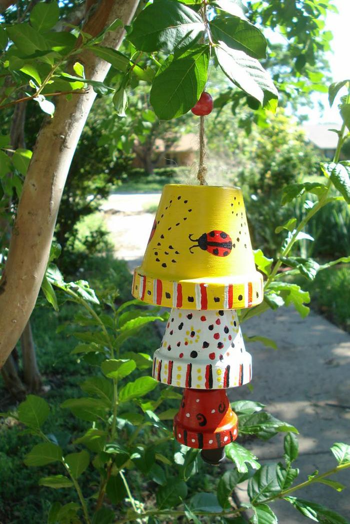 """""""Phù phép"""" chậu đất thành đồ trang trí siêu đáng yêu cho vườn nhà, cách làm vừa rẻ vừa đơn giản - Ảnh 5."""