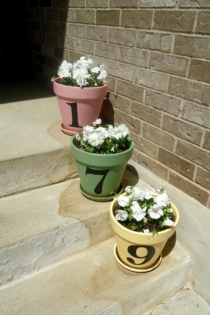 """""""Phù phép"""" chậu đất thành đồ trang trí siêu đáng yêu cho vườn nhà, cách làm vừa rẻ vừa đơn giản - Ảnh 9."""