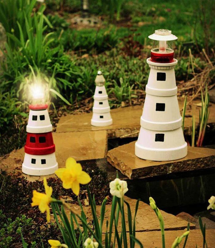 """""""Phù phép"""" chậu đất thành đồ trang trí siêu đáng yêu cho vườn nhà, cách làm vừa rẻ vừa đơn giản - Ảnh 7."""