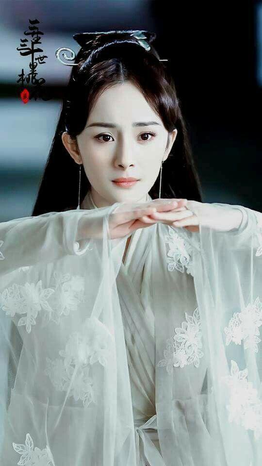 """Lộ tạo hình mỹ nữ áo trắng của Dương Mịch, cả bầu trời thanh xuân """"Tam sinh tam thế Thập lý đào hoa"""" ùa về  - Ảnh 6."""