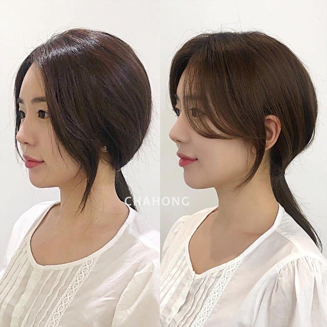 Chia 2 lớp rồi buộc để tạo độ phồng, nàng công sở sẽ có kiểu tóc đuôi ngựa sang xịn hết nấc - Ảnh 7.