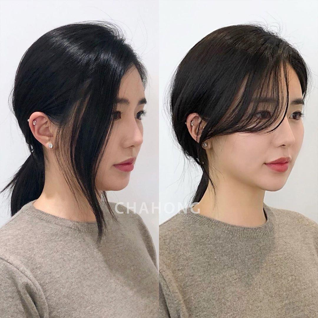 Chia 2 lớp rồi buộc để tạo độ phồng, nàng công sở sẽ có kiểu tóc đuôi ngựa sang xịn hết nấc - Ảnh 8.