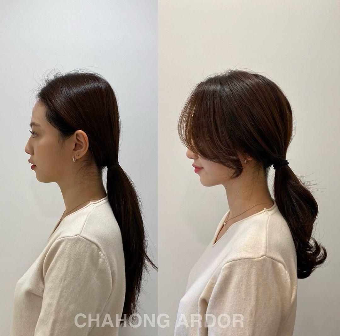 Chia 2 lớp rồi buộc để tạo độ phồng, nàng công sở sẽ có kiểu tóc đuôi ngựa sang xịn hết nấc - Ảnh 10.