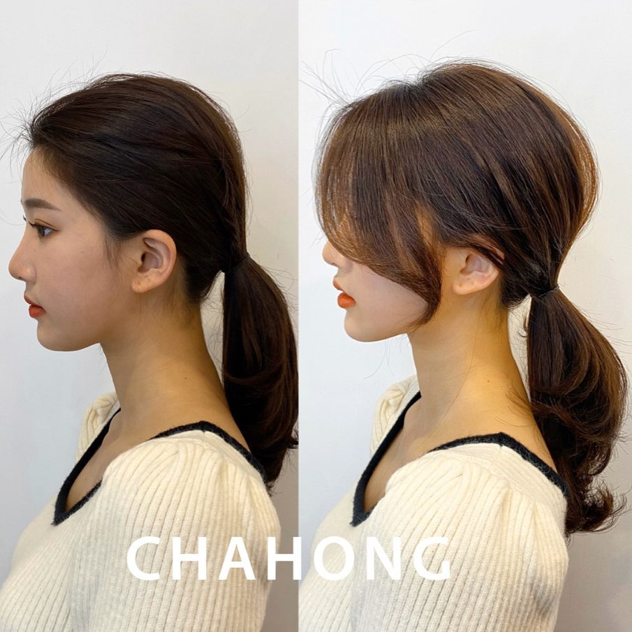 Chia 2 lớp rồi buộc để tạo độ phồng, nàng công sở sẽ có kiểu tóc đuôi ngựa sang xịn hết nấc - Ảnh 6.