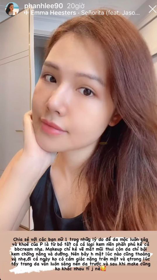 Phanh Lee khoe làn da mịn màng tuổi 30, bật mí tuyệt chiêu không cần kem nền mà da vẫn căng mọng - Ảnh 5.