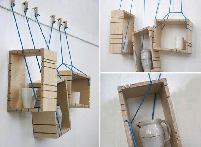 """Cực """"cool"""" với những ý tưởng biến hóa kệ treo để trang trí mọi căn phòng - Ảnh 11."""
