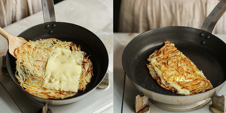 Bánh khoai tây chiên ngon đến ngỡ ngàng, ăn bữa sáng hay bữa xế đều hợp lý! - Ảnh 4.