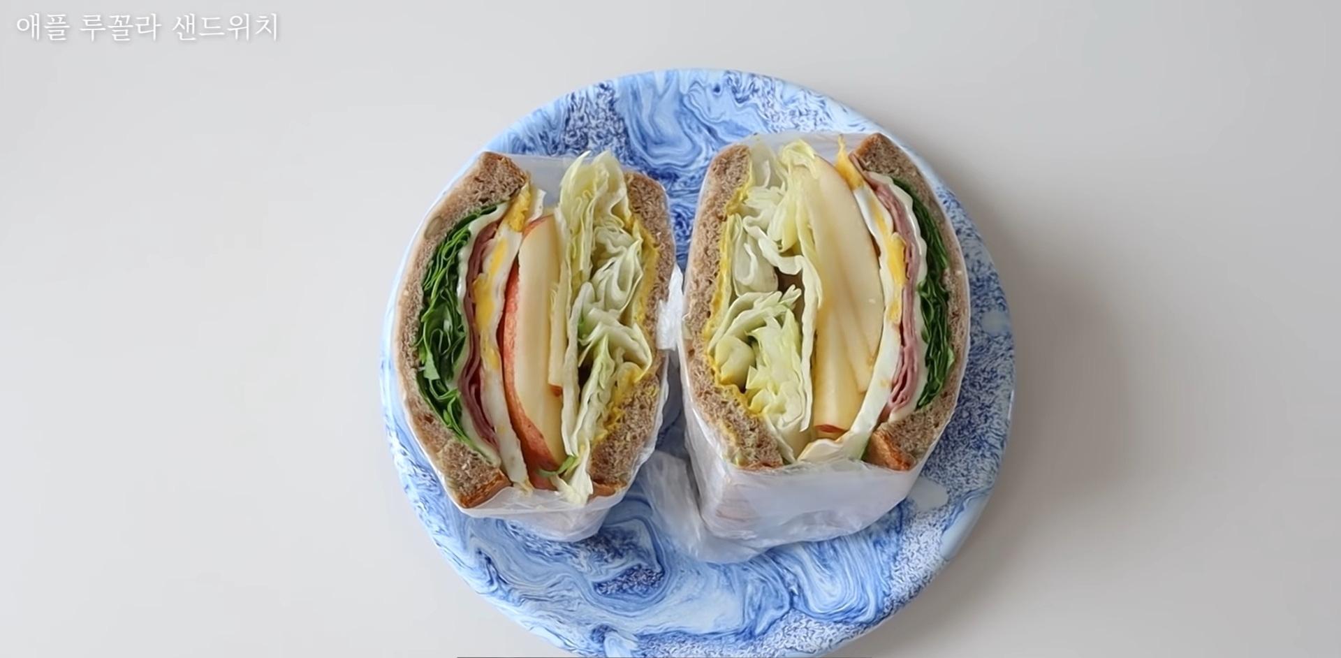Vlogger Hàn chia sẻ bí quyết giảm 10kg nhờ tự tay làm những chiếc sandwich theo công thức của riêng mình - Ảnh 10.