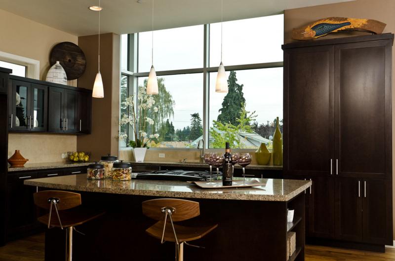 """Những phòng bếp đẹp """"phát hờn"""" chỉ nhờ có cửa sổ - Ảnh 9."""