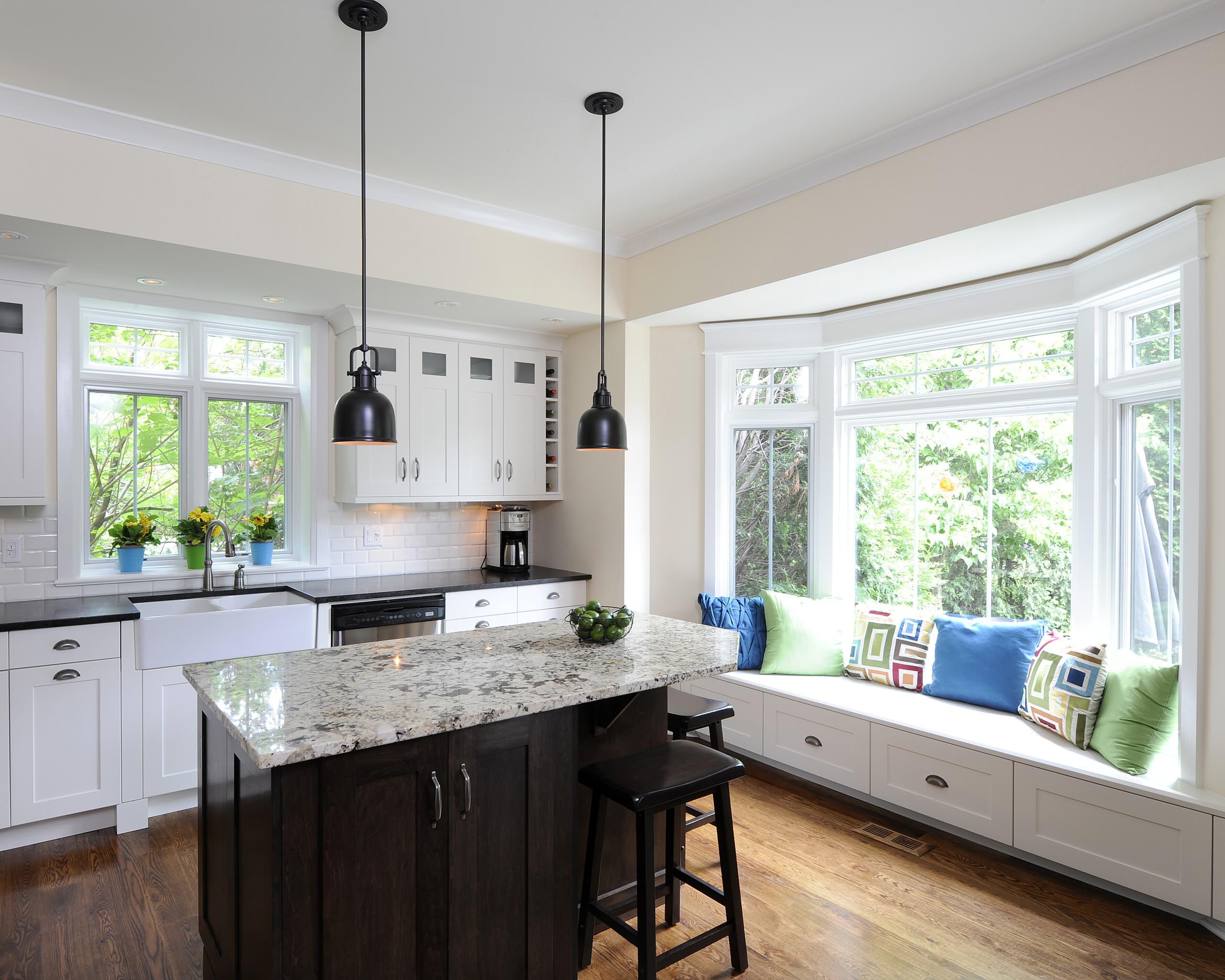 """Những phòng bếp đẹp """"phát hờn"""" chỉ nhờ có cửa sổ - Ảnh 11."""