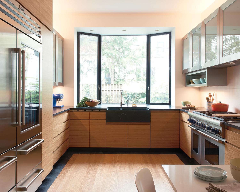 """Những phòng bếp đẹp """"phát hờn"""" chỉ nhờ có cửa sổ - Ảnh 13."""