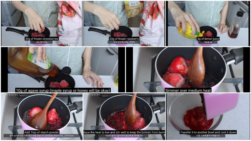 Vlogger Hàn chia sẻ bí quyết giảm 10kg nhờ tự tay làm những chiếc sandwich theo công thức của riêng mình - Ảnh 9.