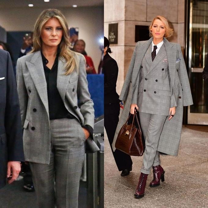 Bước sang tuổi 50, bà Melania Trump vẫn lấn lướt chân dài 18 tuổi về độ sang chảnh khi cùng diện váy hiệu - Ảnh 7.