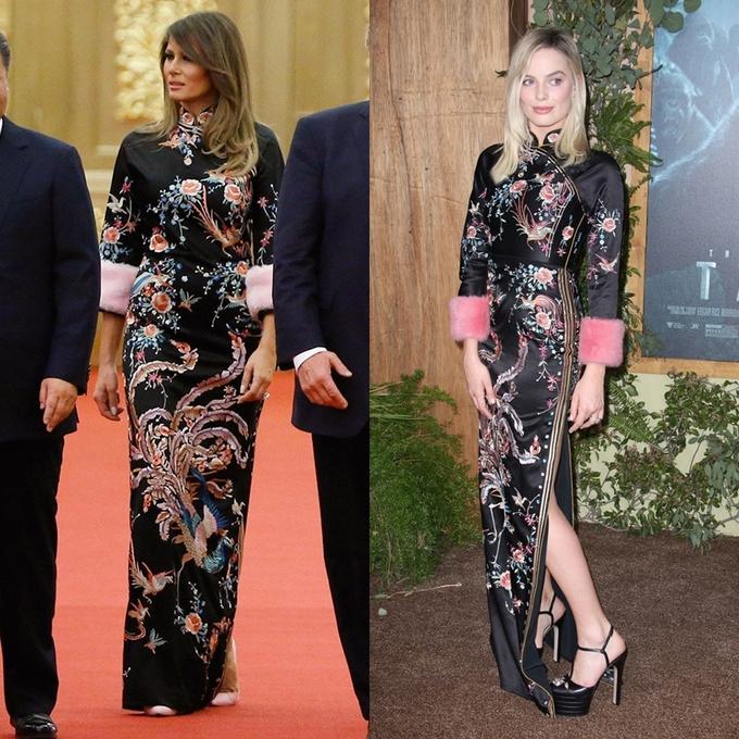 Bước sang tuổi 50, bà Melania Trump vẫn lấn lướt chân dài 18 tuổi về độ sang chảnh khi cùng diện váy hiệu - Ảnh 8.