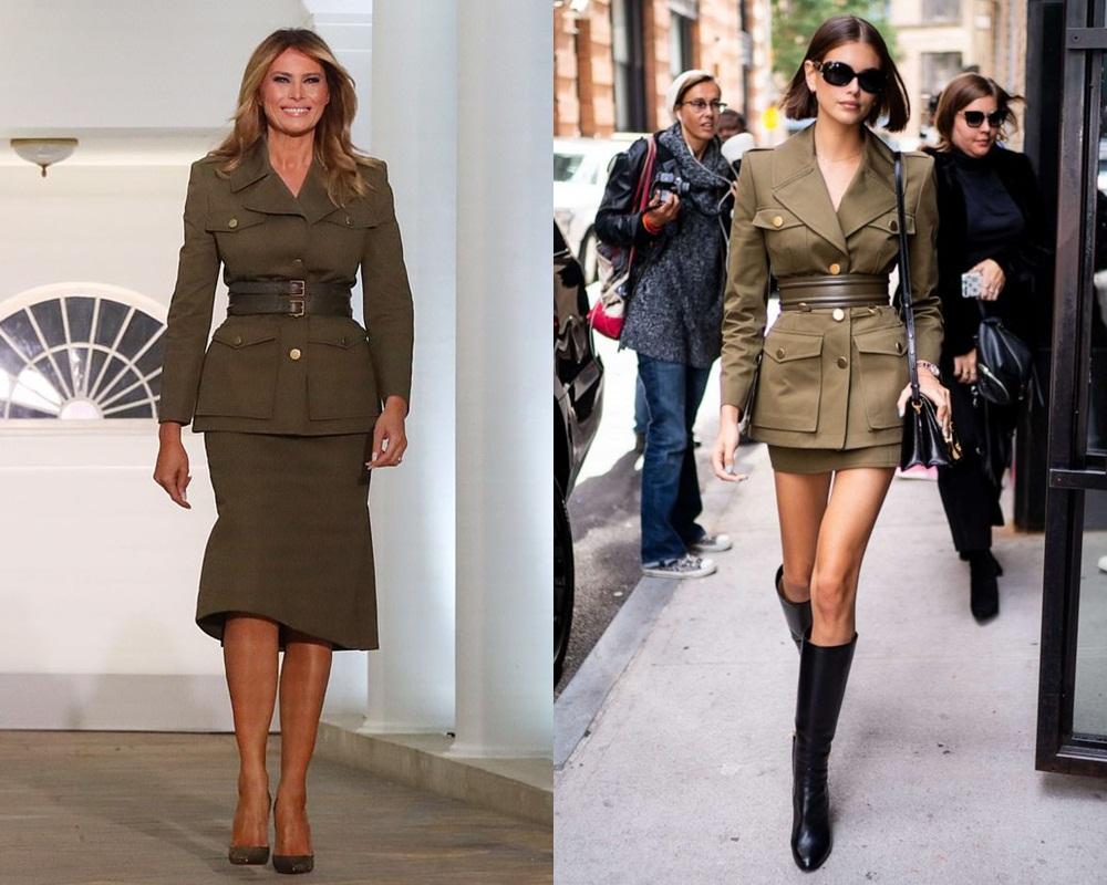 Bước sang tuổi 50, bà Melania Trump vẫn lấn lướt chân dài 18 tuổi về độ sang chảnh khi cùng diện váy hiệu - Ảnh 6.