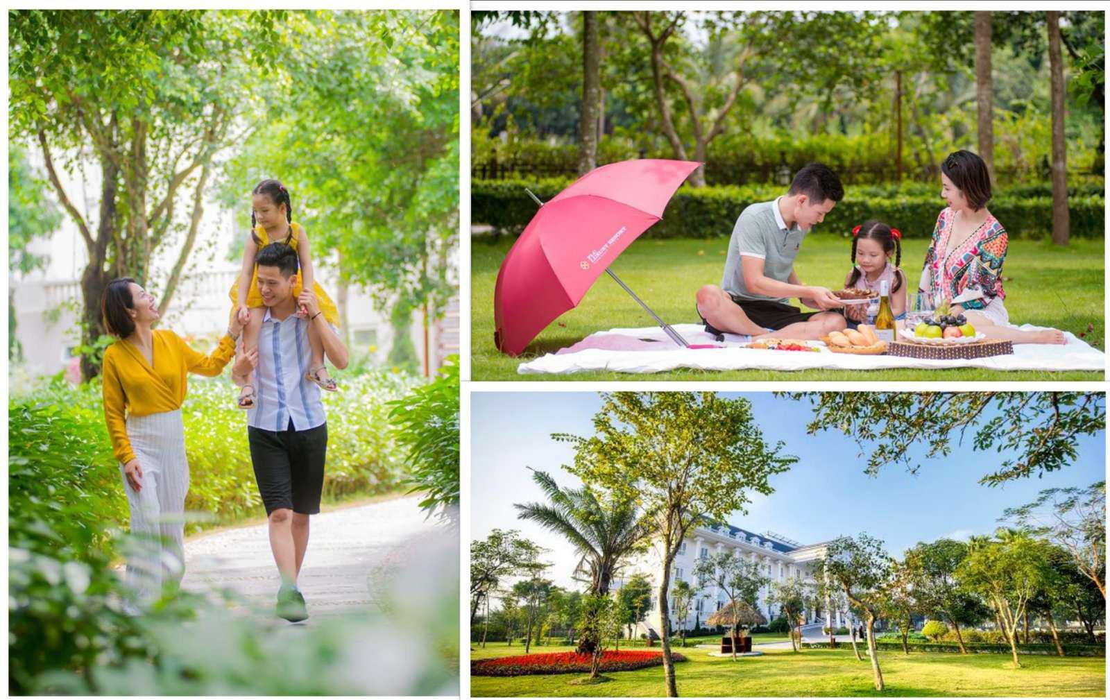 """Du lịch tại chỗ lên ngôi, gia đình Việt tìm nơi """"ẩn mình"""" giữa thiên nhiên xanh - Ảnh 1."""