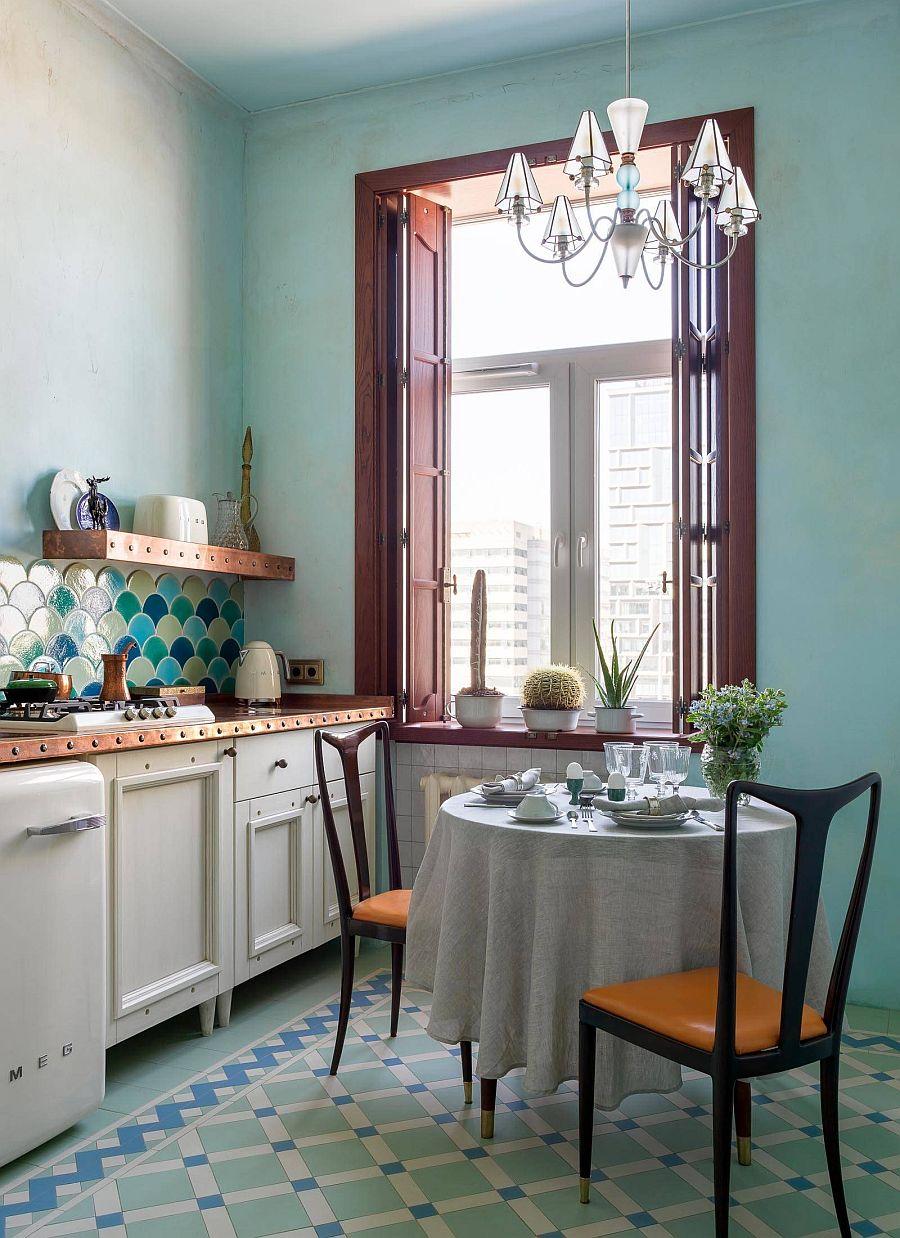 Muôn kiểu chiếu sáng độc đáo và hiệu quả dành cho những căn bếp nhỏ - Ảnh 11.