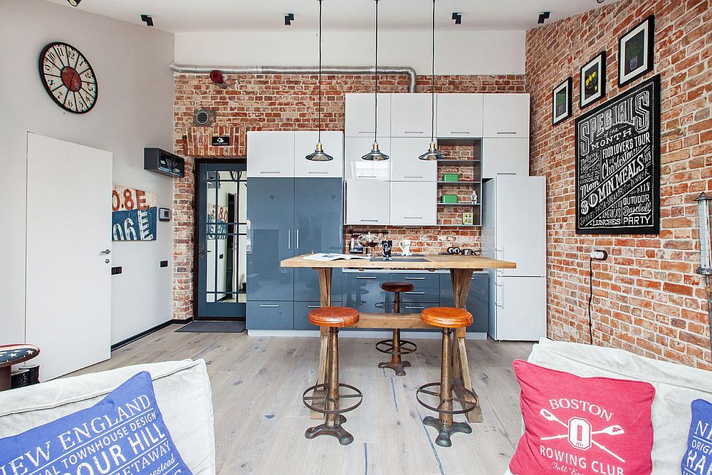 Muôn kiểu chiếu sáng độc đáo và hiệu quả dành cho những căn bếp nhỏ - Ảnh 6.