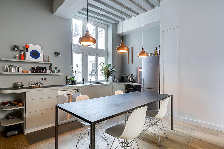 Muôn kiểu chiếu sáng độc đáo và hiệu quả dành cho những căn bếp nhỏ - Ảnh 7.