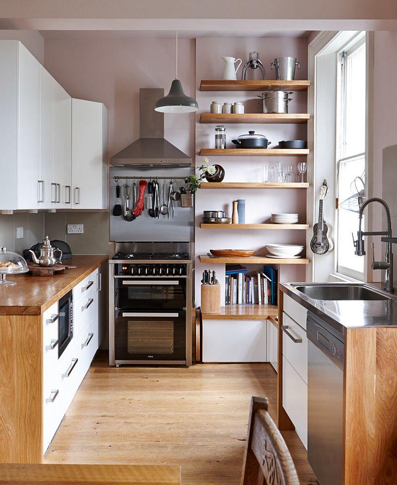Muôn kiểu chiếu sáng độc đáo và hiệu quả dành cho những căn bếp nhỏ - Ảnh 8.