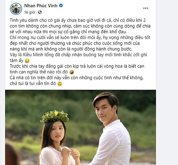 Nhan Phúc Vinh lên tiếng nhắc nhở anti-fan của Linh trong Tình Yêu Và Tham Vọng: Vui thôi đừng vui quá! - Ảnh 1.