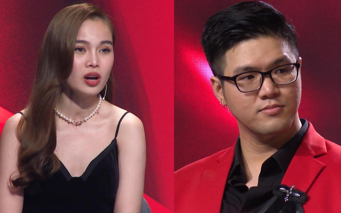 """Bảo vệ thí sinh có giọng hát """"khủng"""", Đức Huy không ngại """"bẻ"""" Giang Hồng Ngọc trên sóng truyền hình"""