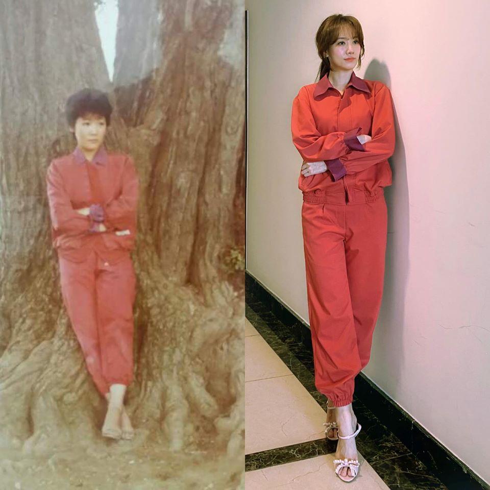 Mặc lại váy áo của mẹ: Hari Won diện y nguyên bản gốc, Hương Giang thay bằng túi Chanel trăm triệu nhưng hài nhất là trùm cuối Lan Ngọc  - Ảnh 1.
