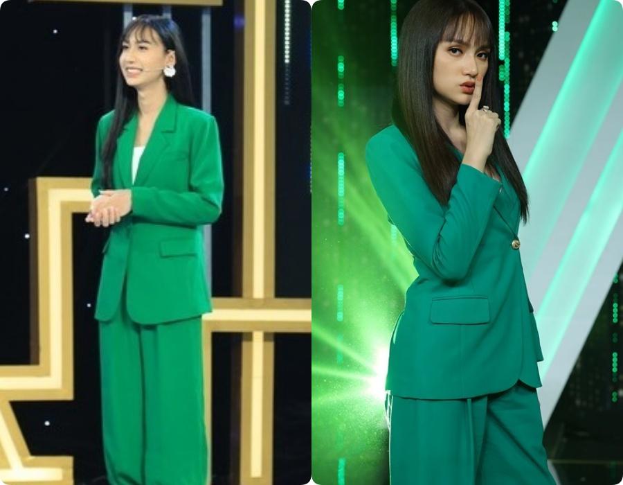 """5 lần 7 lượt Link Lee ăn diện """"đặc sệt"""" Hương Giang: Học hỏi phong cách hay muốn làm """"bản sao"""" của Hoa hậu Chuyển giới - Ảnh 2."""