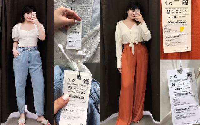 Chiều cao 1m65 - 72kg, cô nàng này chọn được hơn 10 món ở Zara giúp thân hình nhìn gọn hơn hẳn