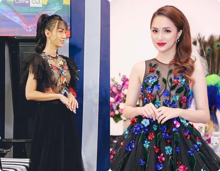 """5 lần 7 lượt Link Lee ăn diện """"đặc sệt"""" Hương Giang: Học hỏi phong cách hay muốn làm """"bản sao"""" của Hoa hậu Chuyển giới - Ảnh 5."""