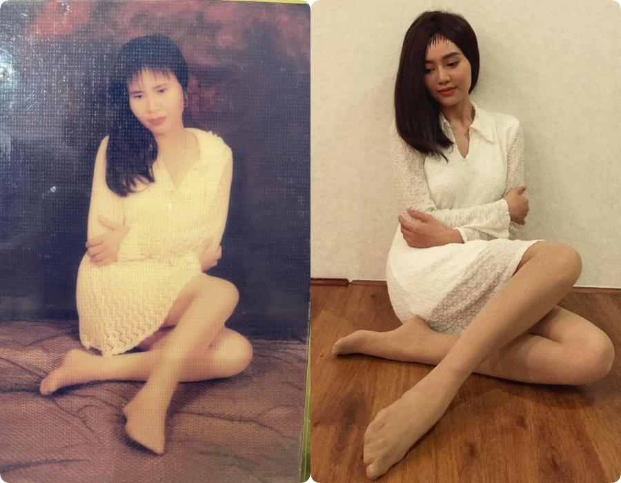 Mặc lại váy áo của mẹ: Hari Won diện y nguyên bản gốc, Hương Giang thay bằng túi Chanel trăm triệu nhưng hài nhất là trùm cuối Lan Ngọc  - Ảnh 6.