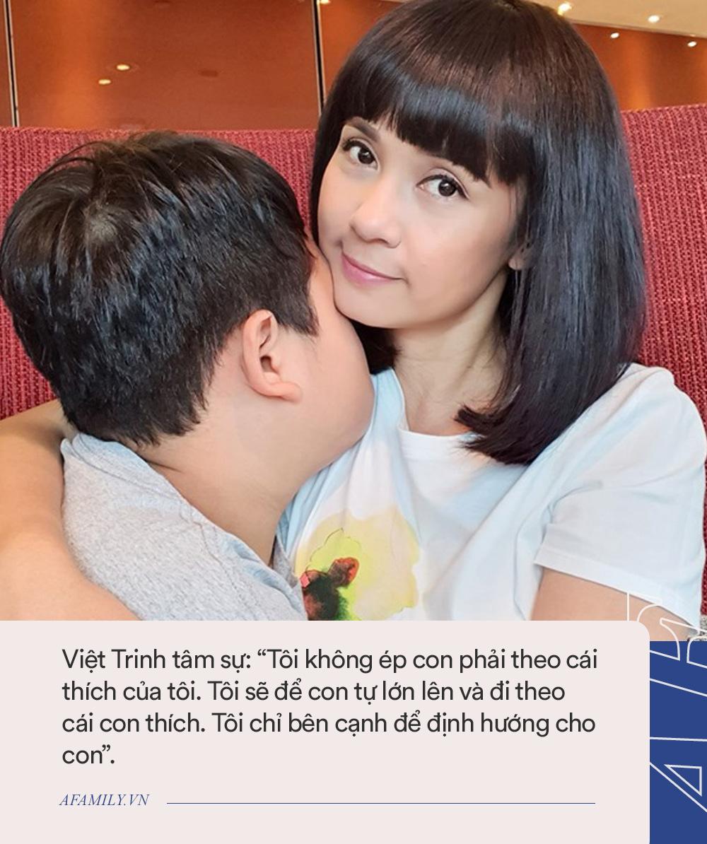 Cậu con trai bí ẩn của Việt Trinh: Mới 11 tuổi đã cao lớn phổng phao, không biết mẹ là người nổi tiếng đến khi chứng kiến điều này - Ảnh 4.
