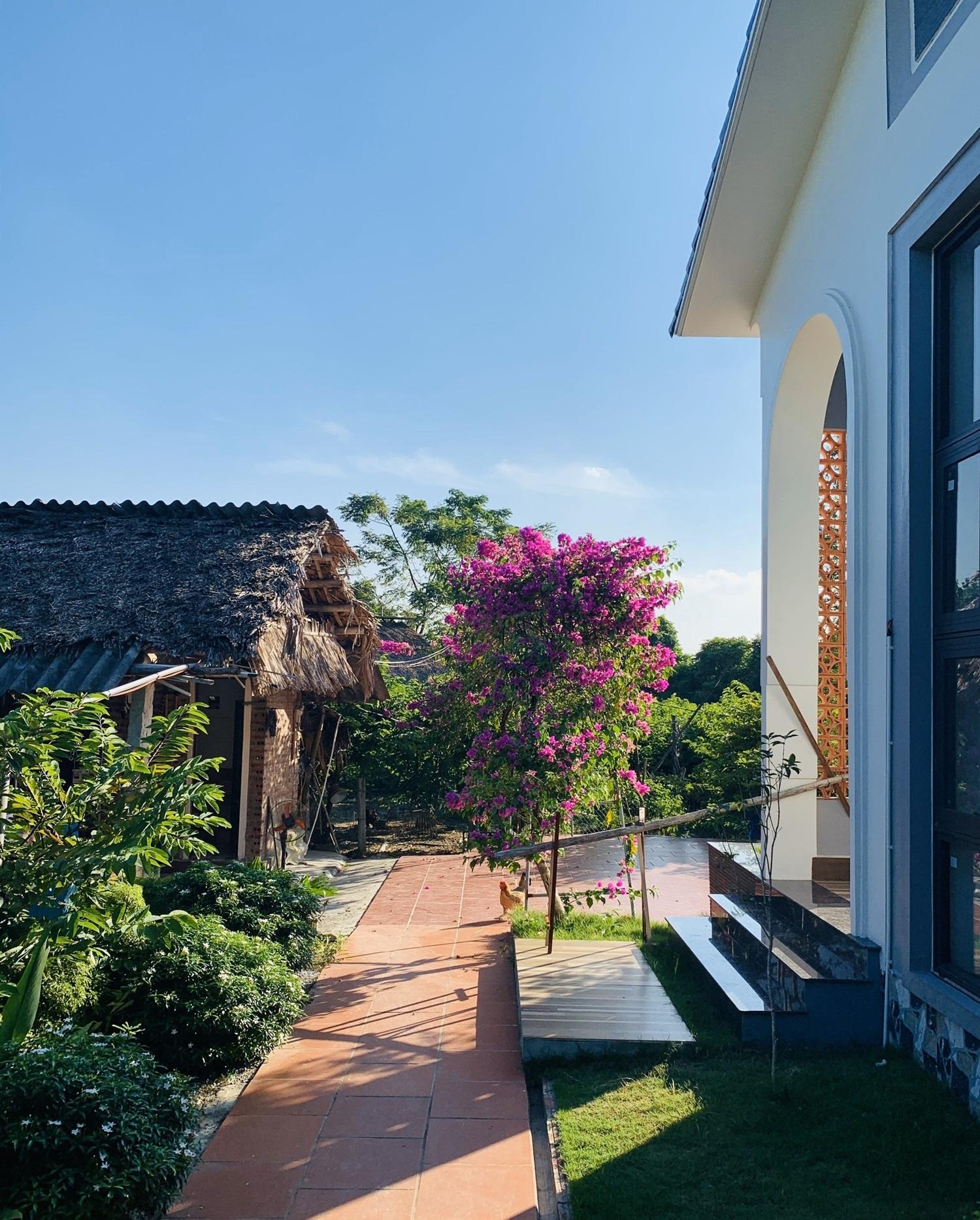 Con trai xây nhà vườn bên đồng lúa xanh mát tặng bố mẹ an hưởng tuổi già ở Vĩnh Phúc - Ảnh 13.