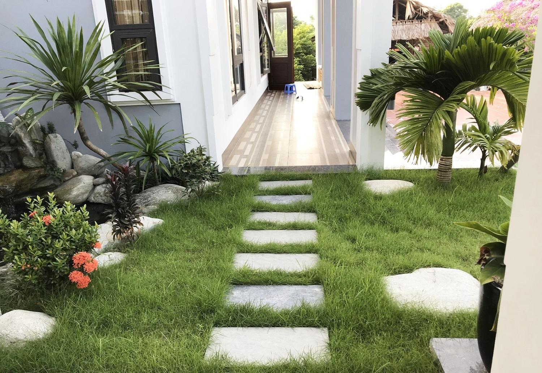 23 15987999005981635401854 - Con trai xây nhà vườn bên đồng lúa xanh mát tặng bố mẹ an hưởng tuổi già ở Vĩnh Phúc